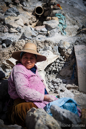 Cerro Rico Woman Worker